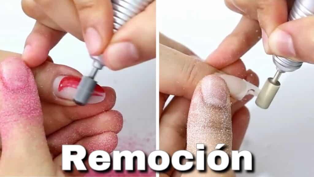 Como sacar esmalte permanente de uñas acrílicas