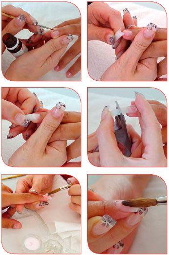 Como hacer uñas acrílicas [paso a paso]