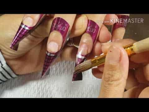 Como hacer uñas acrílicas caseras
