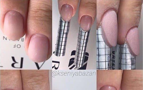 Moldes para uñas acrílicas