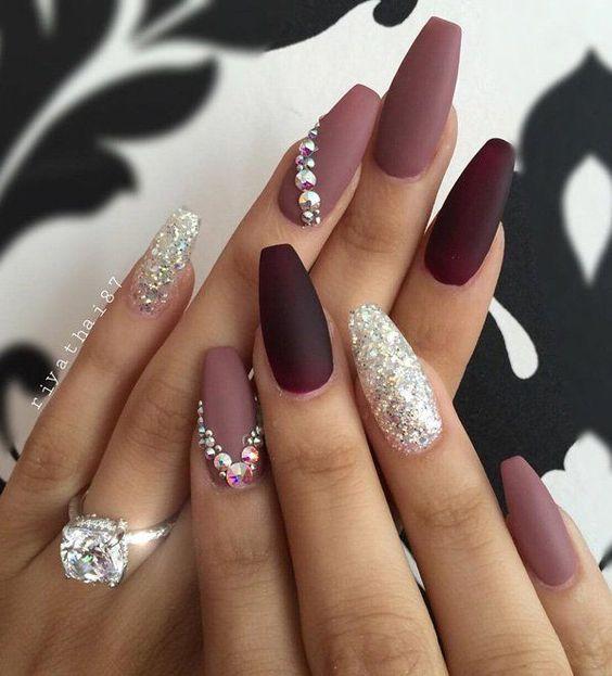 Imágenes de uñas acrílicas 2021