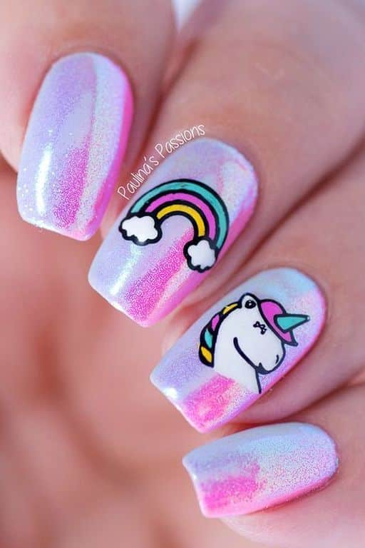 Pintados de uñas acrílicas