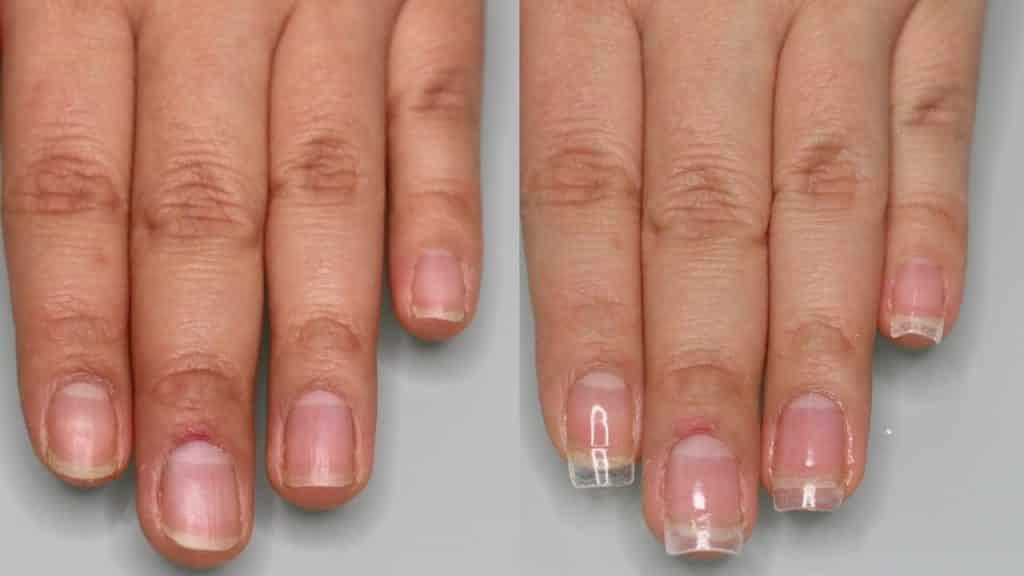 Hacer uñas acrílicas con tips