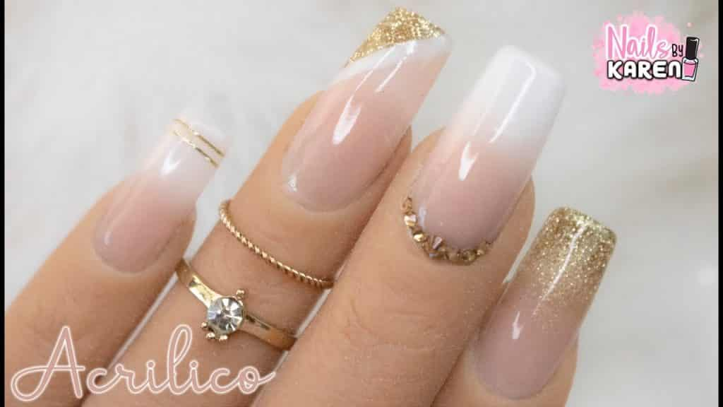 Imágenes de uñas acrílicas naturales