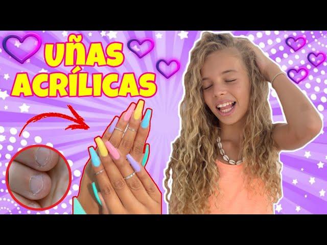 El mundo de indy de uñas acrílicas