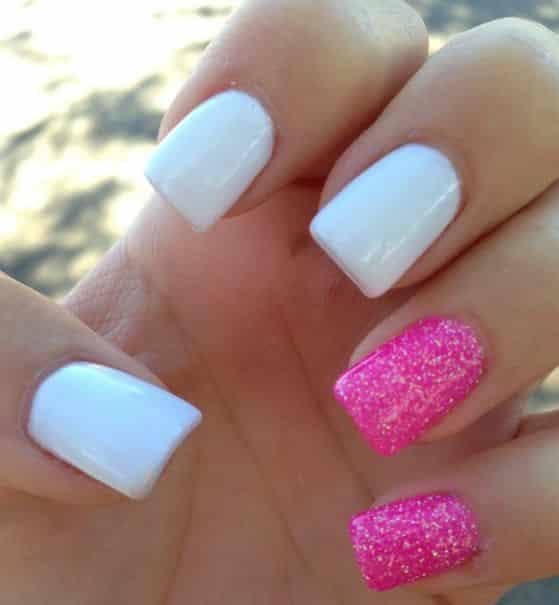 Fotos de uñas acrílicas para niñas