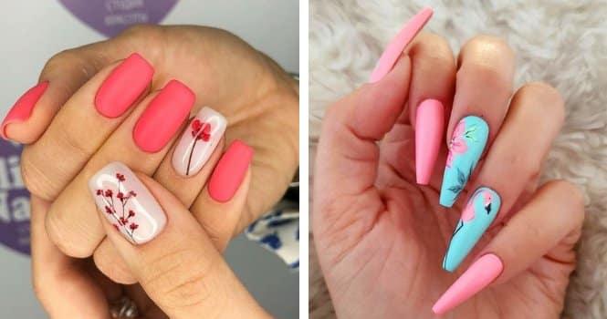 Fotos de diseños de uñas acrilicas