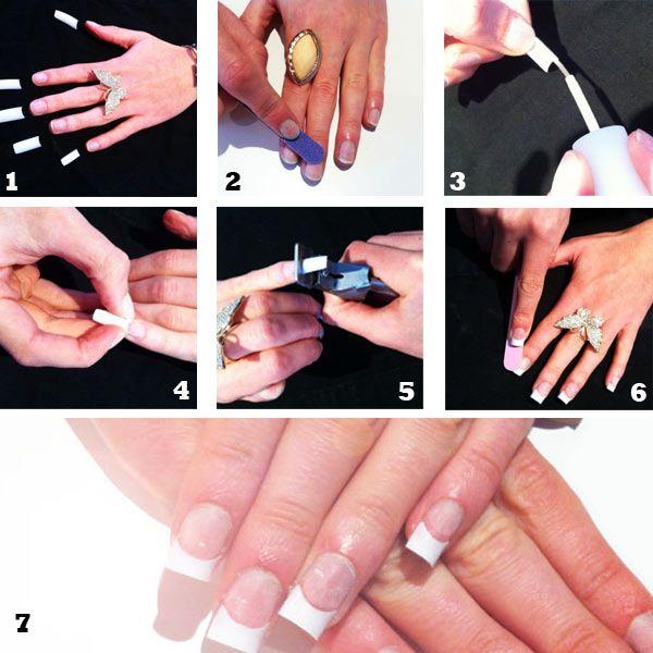 Guía para uñas acrílicas