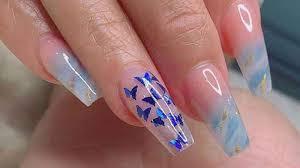 Grosor de uñas acrílicas